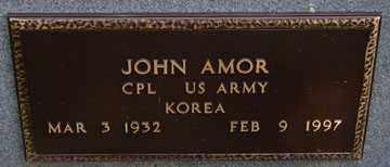AMOR, JOHN (KOREA) - Minnehaha County, South Dakota | JOHN (KOREA) AMOR - South Dakota Gravestone Photos