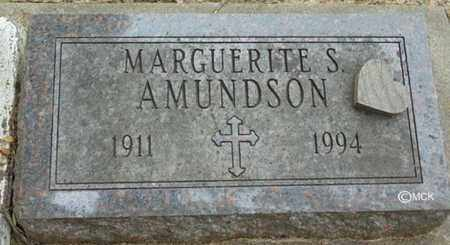 AMUNDSON, MARGUERITE S. - Minnehaha County, South Dakota | MARGUERITE S. AMUNDSON - South Dakota Gravestone Photos