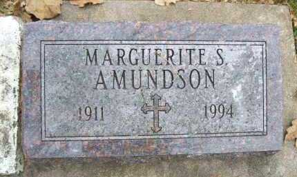 AMUNDSON, MARGUERITE S. - Minnehaha County, South Dakota   MARGUERITE S. AMUNDSON - South Dakota Gravestone Photos