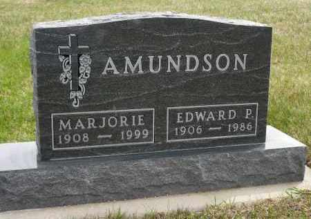 AMUNDSON, MARJORIE - Minnehaha County, South Dakota | MARJORIE AMUNDSON - South Dakota Gravestone Photos