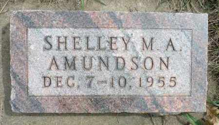 AMUNDSON, SHELLEY M.A. - Minnehaha County, South Dakota | SHELLEY M.A. AMUNDSON - South Dakota Gravestone Photos