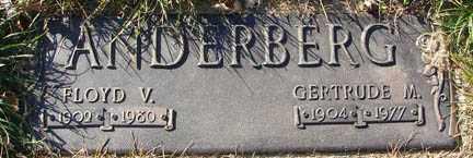 ANDERBERG, FLOYD V. - Minnehaha County, South Dakota | FLOYD V. ANDERBERG - South Dakota Gravestone Photos