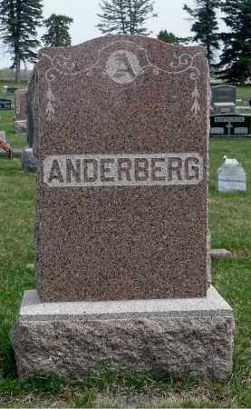 ANDERBERG, FAMILY MARKER - Minnehaha County, South Dakota | FAMILY MARKER ANDERBERG - South Dakota Gravestone Photos
