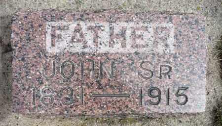 ANDERBERG, JOHN SR. - Minnehaha County, South Dakota | JOHN SR. ANDERBERG - South Dakota Gravestone Photos