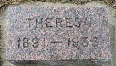 ANDERBERG, THERESA - Minnehaha County, South Dakota   THERESA ANDERBERG - South Dakota Gravestone Photos