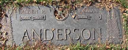 ANDERSEN, ALDEN R. - Minnehaha County, South Dakota | ALDEN R. ANDERSEN - South Dakota Gravestone Photos