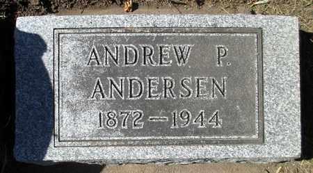 ANDERSEN, ANDREW P. - Minnehaha County, South Dakota   ANDREW P. ANDERSEN - South Dakota Gravestone Photos