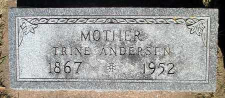 "ANDERSEN, ANE KATRINE ""TRINE"" - Minnehaha County, South Dakota 