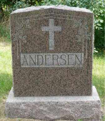 ANDERSEN, DAVID - Minnehaha County, South Dakota | DAVID ANDERSEN - South Dakota Gravestone Photos