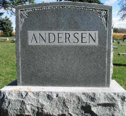 ANDERSEN, FAMILY MARKER - Minnehaha County, South Dakota   FAMILY MARKER ANDERSEN - South Dakota Gravestone Photos