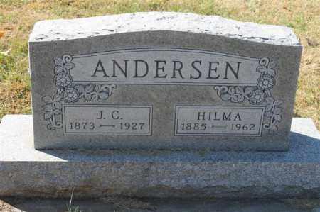 ANDERSEN, HILMA - Minnehaha County, South Dakota | HILMA ANDERSEN - South Dakota Gravestone Photos