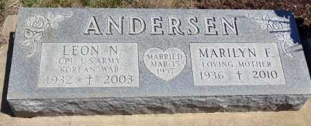 ANDERSEN, MARILYN F. - Minnehaha County, South Dakota | MARILYN F. ANDERSEN - South Dakota Gravestone Photos