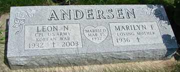 ANDERSEN, LEON N. - Minnehaha County, South Dakota | LEON N. ANDERSEN - South Dakota Gravestone Photos