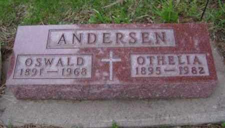 ANDERSEN, OSWALD - Minnehaha County, South Dakota | OSWALD ANDERSEN - South Dakota Gravestone Photos