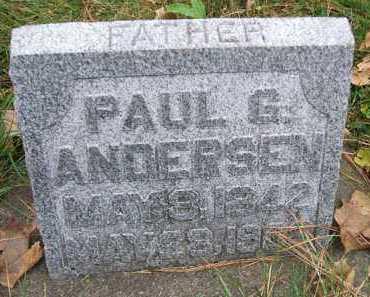 ANDERSEN, PAUL G. - Minnehaha County, South Dakota | PAUL G. ANDERSEN - South Dakota Gravestone Photos