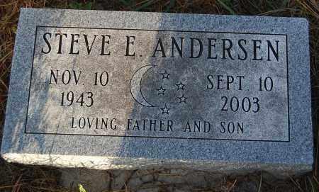 ANDERSEN, STEVE E. - Minnehaha County, South Dakota | STEVE E. ANDERSEN - South Dakota Gravestone Photos