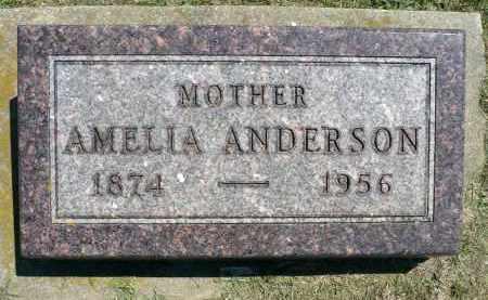 AUSTIN ANDERSON, AMELIA - Minnehaha County, South Dakota   AMELIA AUSTIN ANDERSON - South Dakota Gravestone Photos