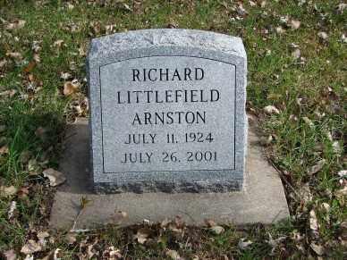 ARNSTON, RICHARD LITTLEFIELD - Minnehaha County, South Dakota | RICHARD LITTLEFIELD ARNSTON - South Dakota Gravestone Photos