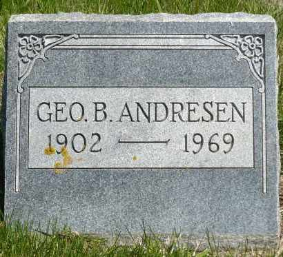 ANDRESEN, GEORGE B. - Minnehaha County, South Dakota | GEORGE B. ANDRESEN - South Dakota Gravestone Photos