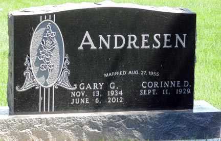 ANDRESEN, GARY G. - Minnehaha County, South Dakota | GARY G. ANDRESEN - South Dakota Gravestone Photos