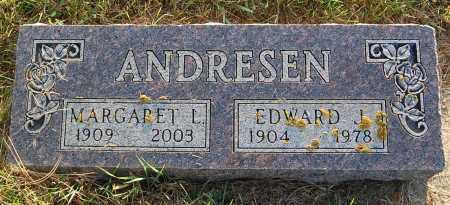 ANDRESEN, EDWARD J. - Minnehaha County, South Dakota | EDWARD J. ANDRESEN - South Dakota Gravestone Photos