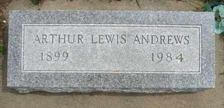 ANDREWS, ARTHUR LEWIS - Minnehaha County, South Dakota | ARTHUR LEWIS ANDREWS - South Dakota Gravestone Photos