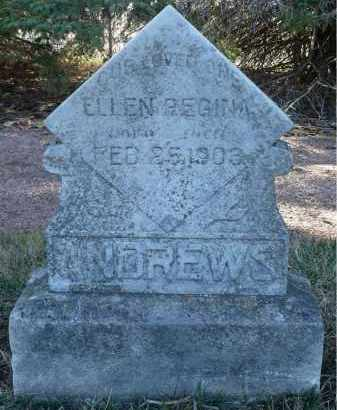 ANDREWS, ELLEN REGINA - Minnehaha County, South Dakota | ELLEN REGINA ANDREWS - South Dakota Gravestone Photos