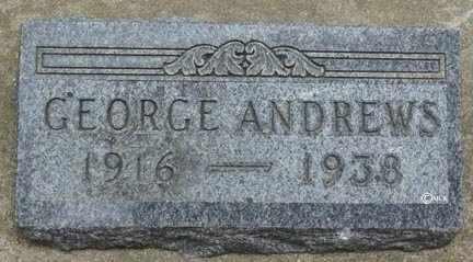 ANDREWS, GEORGE - Minnehaha County, South Dakota | GEORGE ANDREWS - South Dakota Gravestone Photos
