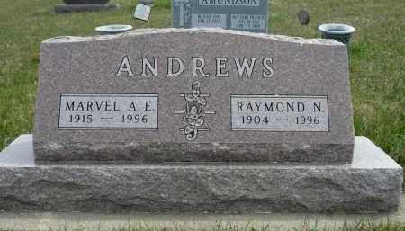 ANDREWS, RAYMOND N. - Minnehaha County, South Dakota | RAYMOND N. ANDREWS - South Dakota Gravestone Photos