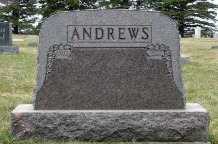ANDREWS, RAYMOND - Minnehaha County, South Dakota | RAYMOND ANDREWS - South Dakota Gravestone Photos