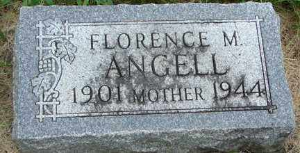 ANGELL, FLORENCE M. - Minnehaha County, South Dakota | FLORENCE M. ANGELL - South Dakota Gravestone Photos