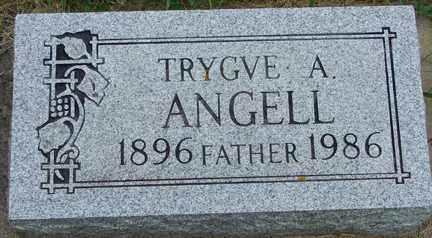 ANGELL, TRYGVE A. - Minnehaha County, South Dakota   TRYGVE A. ANGELL - South Dakota Gravestone Photos