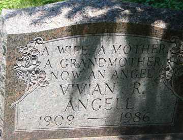 ANGELL, VIVIAN R. - Minnehaha County, South Dakota | VIVIAN R. ANGELL - South Dakota Gravestone Photos