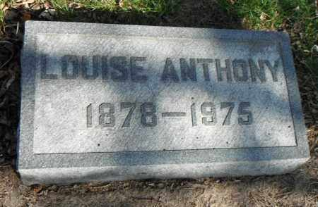 ANTHONY, LOUISE - Minnehaha County, South Dakota | LOUISE ANTHONY - South Dakota Gravestone Photos