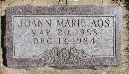AOS, JOANN MARIE - Minnehaha County, South Dakota | JOANN MARIE AOS - South Dakota Gravestone Photos