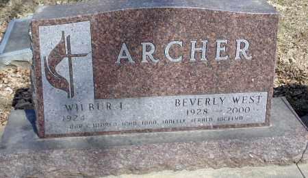 ARCHER, BEVERLY - Minnehaha County, South Dakota | BEVERLY ARCHER - South Dakota Gravestone Photos