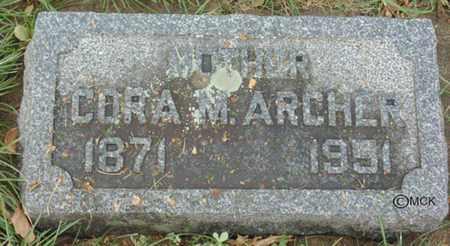 ARCHER, CORA M. - Minnehaha County, South Dakota | CORA M. ARCHER - South Dakota Gravestone Photos