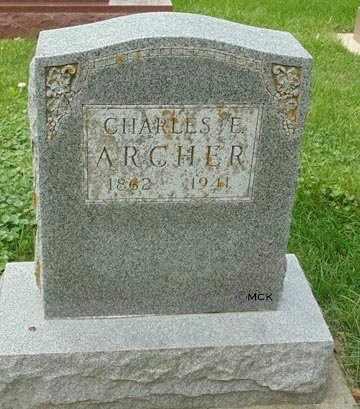 ARCHER, CHARLES E. - Minnehaha County, South Dakota | CHARLES E. ARCHER - South Dakota Gravestone Photos