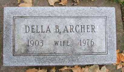 ARCHER, DELLA B. - Minnehaha County, South Dakota | DELLA B. ARCHER - South Dakota Gravestone Photos