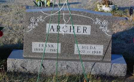 ARCHER, HILDA - Minnehaha County, South Dakota | HILDA ARCHER - South Dakota Gravestone Photos