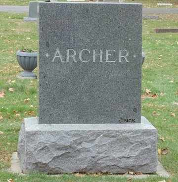 ARCHER, FAMILY HEADSTONE - Minnehaha County, South Dakota | FAMILY HEADSTONE ARCHER - South Dakota Gravestone Photos