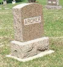 ARCHER, FAMILY STONE - Minnehaha County, South Dakota | FAMILY STONE ARCHER - South Dakota Gravestone Photos
