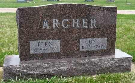 ARCHER, FERN - Minnehaha County, South Dakota | FERN ARCHER - South Dakota Gravestone Photos