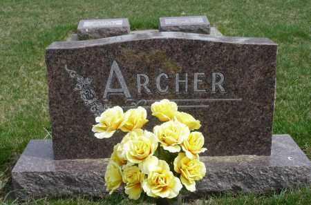 ARCHER, FAMILY MARKER - Minnehaha County, South Dakota   FAMILY MARKER ARCHER - South Dakota Gravestone Photos