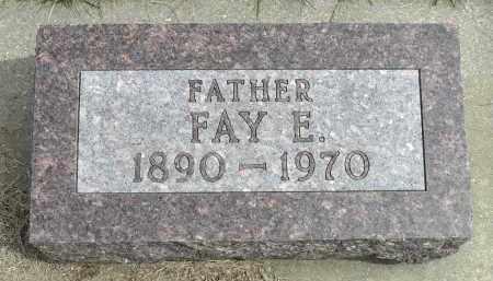 ARCHER, FAY E. - Minnehaha County, South Dakota   FAY E. ARCHER - South Dakota Gravestone Photos