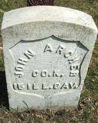 ARCHER, JOHN (MILITARY) - Minnehaha County, South Dakota | JOHN (MILITARY) ARCHER - South Dakota Gravestone Photos
