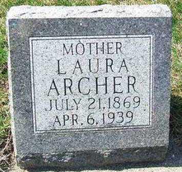 ARCHER, LAURA - Minnehaha County, South Dakota   LAURA ARCHER - South Dakota Gravestone Photos