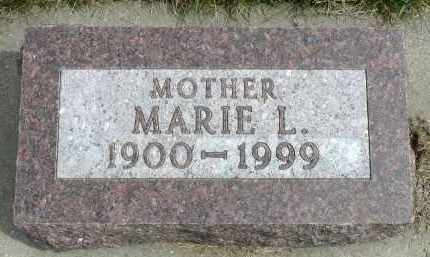 ARCHER, MARIE L. - Minnehaha County, South Dakota | MARIE L. ARCHER - South Dakota Gravestone Photos