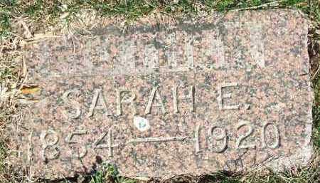 ARCHER, SARAH E. - Minnehaha County, South Dakota   SARAH E. ARCHER - South Dakota Gravestone Photos