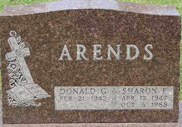 ARENDS, SHARON F. - Minnehaha County, South Dakota | SHARON F. ARENDS - South Dakota Gravestone Photos